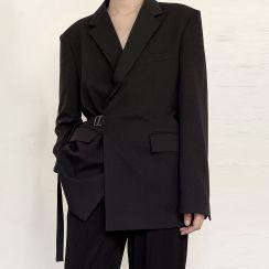 Omozando - Tie-Waist Blazer