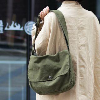 Sacculi - Couple Matching Canvas Crossbody Bag