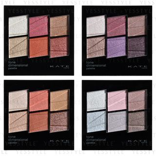 Kanebo - Kate Tone Dimensional Eyeshadow Palette 6.8g - 4 Types