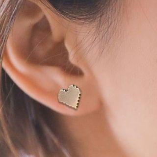 Andante - 心形耳钉