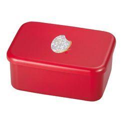 Hakoya - Hakoya Komemon Rectangular Lunch Box 870ml  (Red)