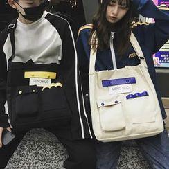 SUNMAN - 情侶裝帆布手提袋