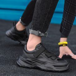 MARTUCCI - Chunky Adhesive Strap Sneakers