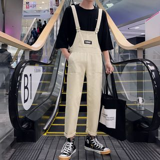 Obikan(オビカン) - Couple Matching Cropped Jumper Pants