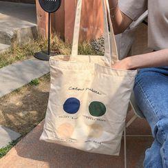 MERONGSHOP - Printed Shopper Bag