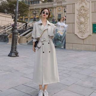 Jinyo - Button-Up Trench Coat