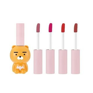 THE FACE SHOP - Ryan Velvet Lip Tint Kakao Friends Limited Edition - 4 Colors