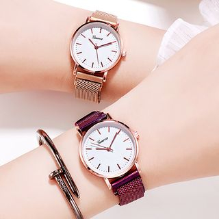 Biccup - Stainless Steel Strap Watch