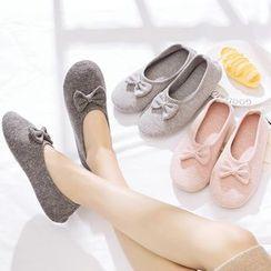 Furana - 蝴蝶結飾家居輕便鞋