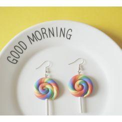KokoRosy - Resin Lollipop Drop Earring