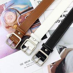 Luminarie - Faux Leather Belt