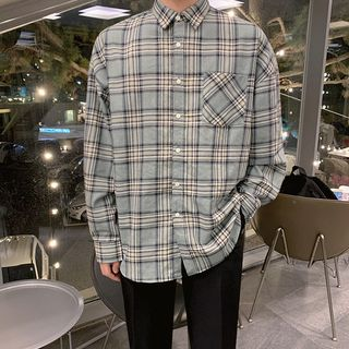 MRCYC - Long-Sleeve Plaid Shirt