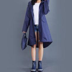 Deep Fest - Hooded Raincoat