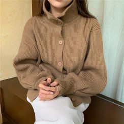 ANNZ - Turtleneck Cardigan