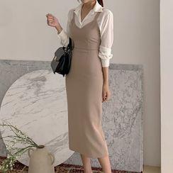 Leoom - Midi Jumper Dress