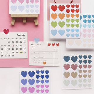WarmFire - Heart Sticker