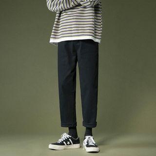 Artistman - Cropped Straight Leg Pants