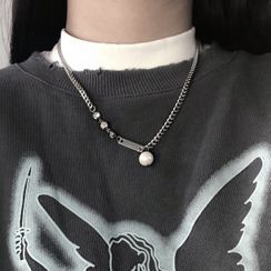 UNPACK(アンパック) - Faux Pearl Necklace