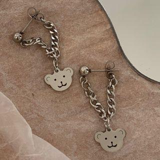 ADES STUDIO - Bear Chain Drop Earring