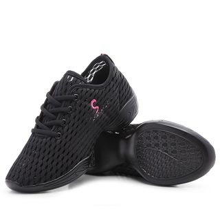 Danceon - Mesh Lace Up Dance Sneakers