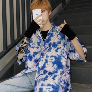 Giuliana - 印花中袖衬衫