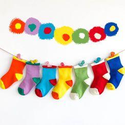 Cloud Femme - Kids Color Block Socks