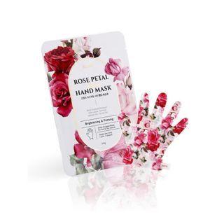 PETITFEE - Rose Petal Satin Hand Mask