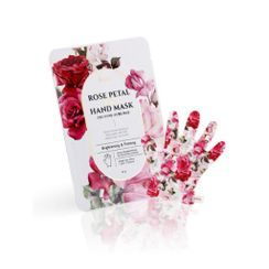 PETITFEE - Rose Petal Satin Hand Mask