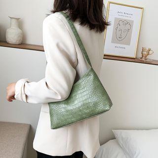 Fema - Croc Grain Shoulder Bag