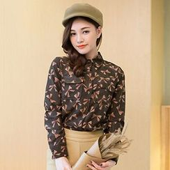 Romantica - Long-Sleeve Printed Shirt