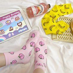 Yunikon - Fruit Printed Socks