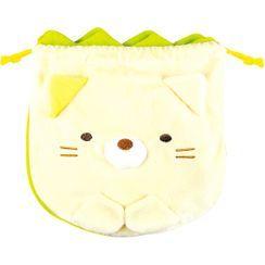T'S Factory - 角落生物 抽绳小袋 (猫猫 & 杂草)