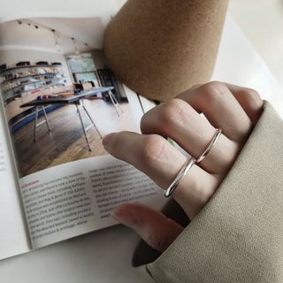Mojia - Couple Matching 925 Sterling Silver Ring