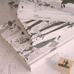 Homey House - Printed Medium Hardcover Notebook (various designs)