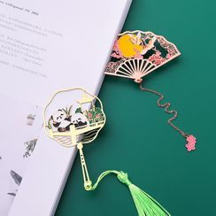 Fun House - Cutout Metal Bookmark