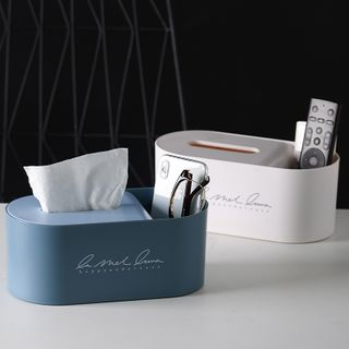 Home Simply - Lettering Tissue Box