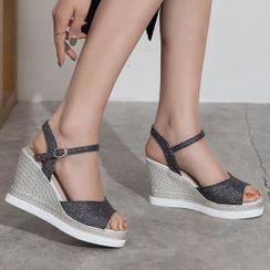Megan - Wedge Sandals
