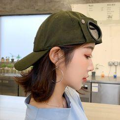 FROME - Aviator Goggles Style Baseball Cap
