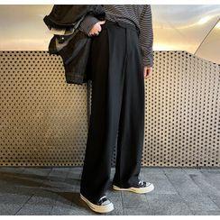 DAZO Studios - Wide-Leg Dress Pants