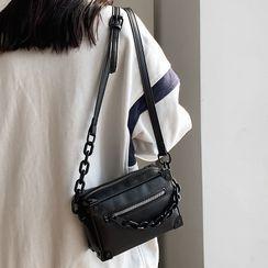 Libra - Chain Zip Crossbody Bag