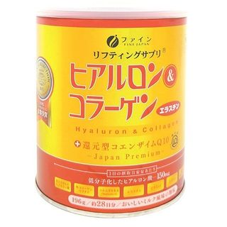 Fine Japan - Premium Hyaluron & Collagen + Ubiquinol Q10 Drink (Canned)