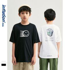 Wolandorf - 儿童宽松短袖T恤