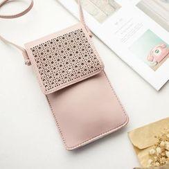 Annmuu - Faux Leather Phone Pouch