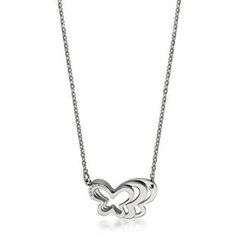Kenny & co. - Overlapped Butterfly Necklace