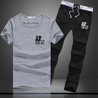 Sheck - Set: Short-Sleeve T-Shirt + Sweatpants