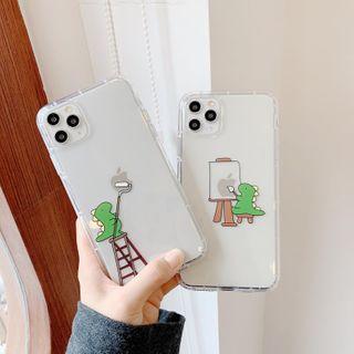 Huella - Dinosaur Print Phone Case For iPhone 7 / 7 Plus / 8 / 8 Plus / X / XS / XR / XS Max / 11 / 11 Pro / 11 Pro Max