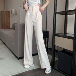 ever after - High-Waist Wide-Leg Dress Pants