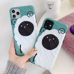 Sugar&Spice - Sheep Printed Case - iPhone 11 Pro Max / 11 Pro / 11 / XS Max / XS / XR / X / 8 / 8 Plus / 7 / 7 Plus