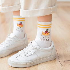 Mimiyu - Set of 3: Dog Print Socks