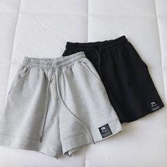 mochigome - Drawstring Sweat Shorts